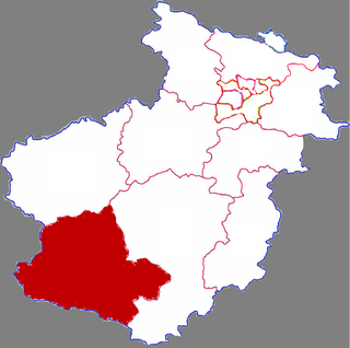 Luanchuan County County in Henan, Peoples Republic of China