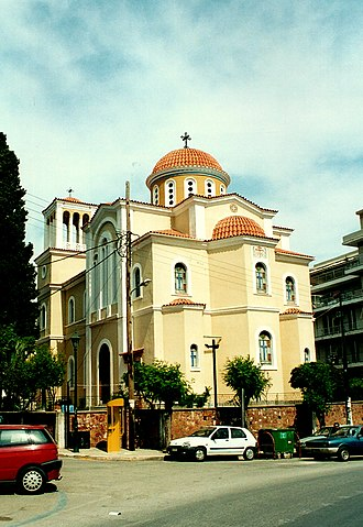 Chios, North Aegean - Image: Chios, Cathedral or the Church of Agion Victoron