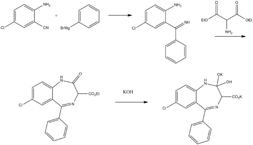 Chlorazepate synthesis.png