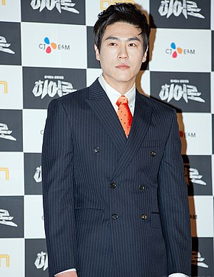 Choi Cheol-ho - Choi Cheol-ho at OCN press conference for Hero in March 2012