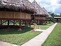 Chozas, en la Comunidad Indigena de Wasakin, Rosita. - panoramio.jpg