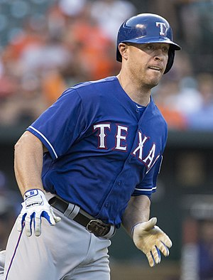 Chris Gimenez - Gimenez with the Texas Rangers in 2014