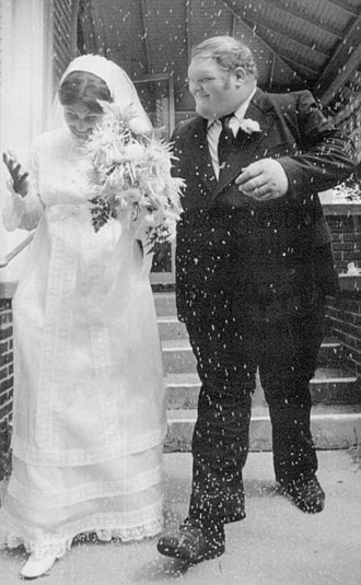 Chris Taylor (wrestler) - Taylor getting married in 1973