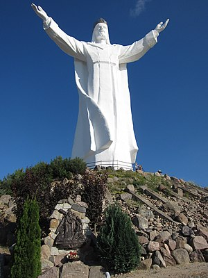 Świebodzin - Statue of Christ the King