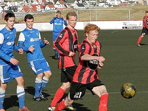 Havnar Bóltfelag - HB Tórshavn against FC Suðuroy on 23 September 2012