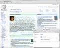 Chromium Web browser 39 Linux Mint 17.png