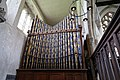 Church of St Mary Hatfield Broad Oak Essex England - north aisle organ.jpg