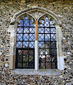 Church of St Michael, Leaden Roding, Essex, England - nave north window.jpg