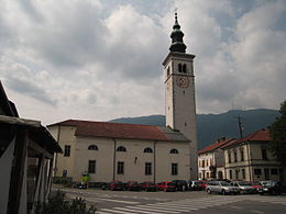 Church of the Assumption, Kobarid, Slovenia.jpg