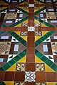 Church of the Holy Cross Felsted Essex England - chancel tiled floor 02.jpg