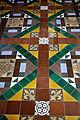 Church of the Holy Cross Felsted Essex England - chancel tiled floor 02.jpg