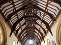 Church of the Holy Innocents, High Beach, Essex, England - nave ceiling.jpg