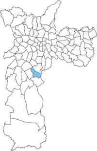 Mapa da Cidade Ademar para Desentupimento