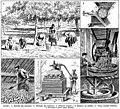 Cidre - cider - Public domain illustration from Larousse du XXème siècle 1932.jpg