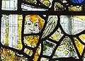 Cirencester, St John the Baptist church, medieval stained glass (45283175102).jpg