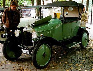 Citroën - 1919 Citroën A 8CV Torpedo