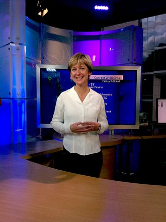 Claire Martin (meteorologist) - Martin at a CBC open house in 2010