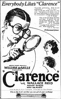 <i>Clarence</i> (1922 film) 1922 film