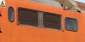 South African Class 6E1, Series 5 - Grilles with beading on Series 6 no. E1672