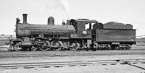 South African type XD tender - Image: Class 6J 646 (4 6 0) ex CGR 538