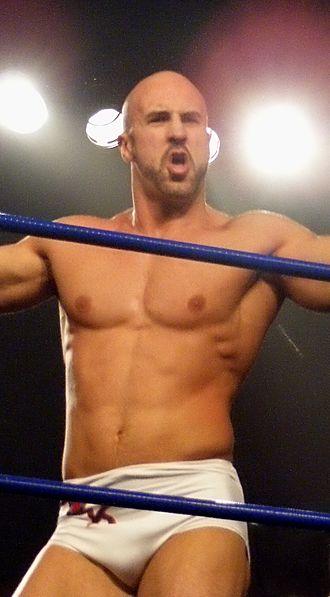 Cesaro (wrestler) - Castagnoli at a Chikara event in 2010