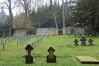 German military cemetery in Luxembourg City