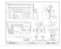 Clifford Miller House, State Route 23, Claverack, Columbia County, NY HABS NY,11-CLAV,2- (sheet 13 of 14).png