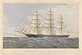 Clipper Ship Kaisow outward bound. January 1869 RMG PY8580.jpg
