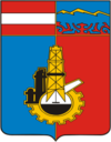 Coat of Arms of Grozny (Chechnya) (1969).png