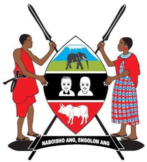Kajiado County - Image: Coat of Arms of Kajiado County