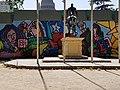 Cobo, Crescencio - Mil colores para Santiago -cierre perimetral m Parque Almagro 20171203 fRF01.jpg