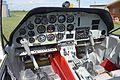 Cockpit of Scottish Aviation Bulldog 121 (G-CBEF) (32408705435).jpg