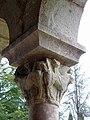 Codalet (66) Abbaye Saint-Michel de Cuxa Cloître Chapiteau 04.JPG