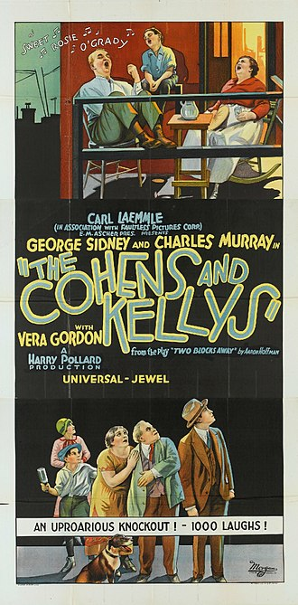 The Cohens and Kellys - Image: Cohens and Kellys poster