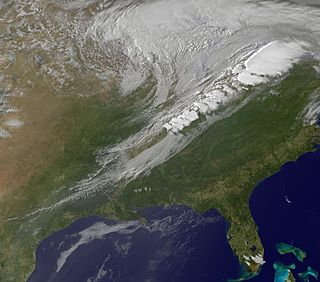 Cold front Leading edge of a cooler mass of air