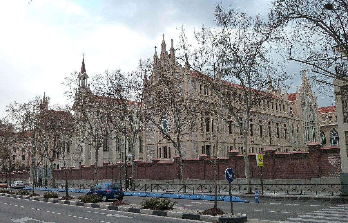Colegio nuestra se ora del pilar wikipedia la - Calle castello madrid ...