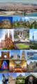 Collage de la ciudad de Barcelona, Cataluña, España.png