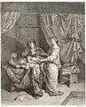Collection de cent-vingt estampes, gravée d'après les tableaux and dessins qui composoient le cabinet de m. Poullain précédée d'un abrégé historique de la vie des auteurs qui la composent Cette suite (14775564071).jpg