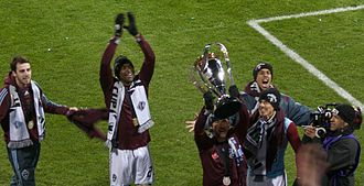 Colorado Rapids - Colorado Rapids after winning MLS Cup 2010
