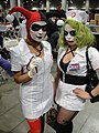 Comikaze Expo 2011 - Harley Quinn and the Joker, medical professionals (6324630171).jpg