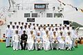 Commisssioning crew of ICGS Rajveer with the visiting dignitaries.jpg