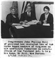 Congress, U.S. - women members- Mrs. Kahn, Mrs. Norton and John Phillip Hill - unofficial committee on modification of Volstead Act LCCN2002697193.jpg
