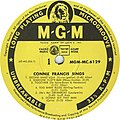 """Connie Francis Sings """"Second Hand Love"""" by Connie Francis.jpg"""