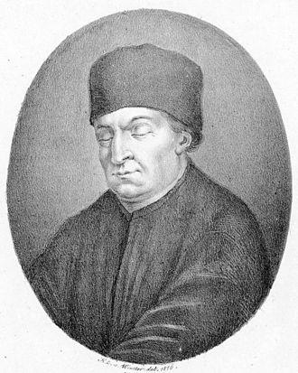 Conrad Paumann - Conrad Paumann (later 19th? century engraving)