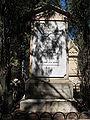 Conrad Schick Headstone - Mount Zion Israel 1.JPG
