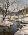 Constantin Westchiloff - Early Spring at the Old Forge, New York.jpg