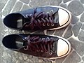 Converse All Star de couro preto - Black Leather Converse All star.jpg