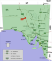Coober pedy location map in South Australia.PNG