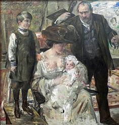 La artisto kaj His Family