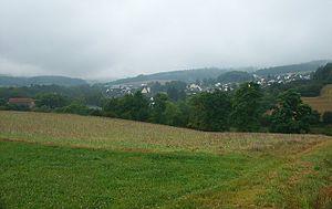Cornberg - View over Cornberg